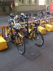ITU Bike Racking